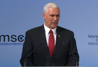 US Vice-President Mike Pence pledges US support for Nato