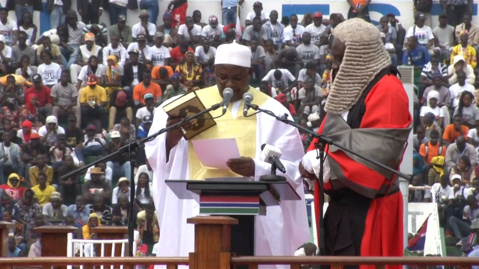 The Gambia President Adama Barrow