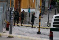 Bogota explosion