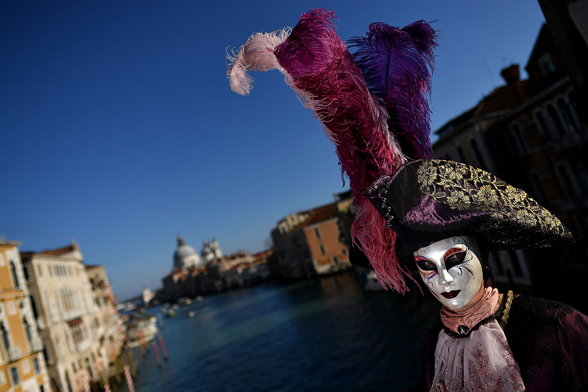 Venice Carnival 2017 Best costumes and masks at this year\u0027s