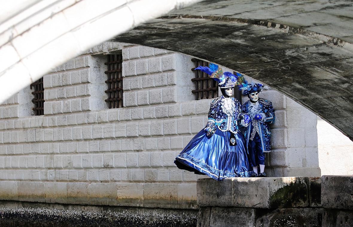 Venice Carnival 2017 best costumes