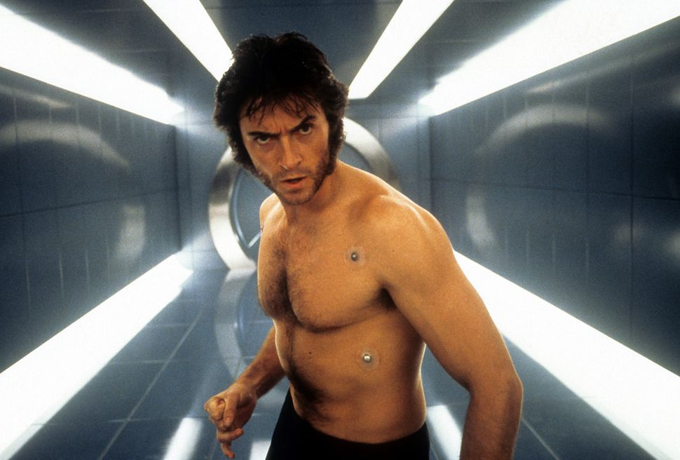 Hugh Jackman in X-Men 2000