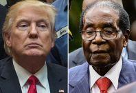 Trump, Mugabe
