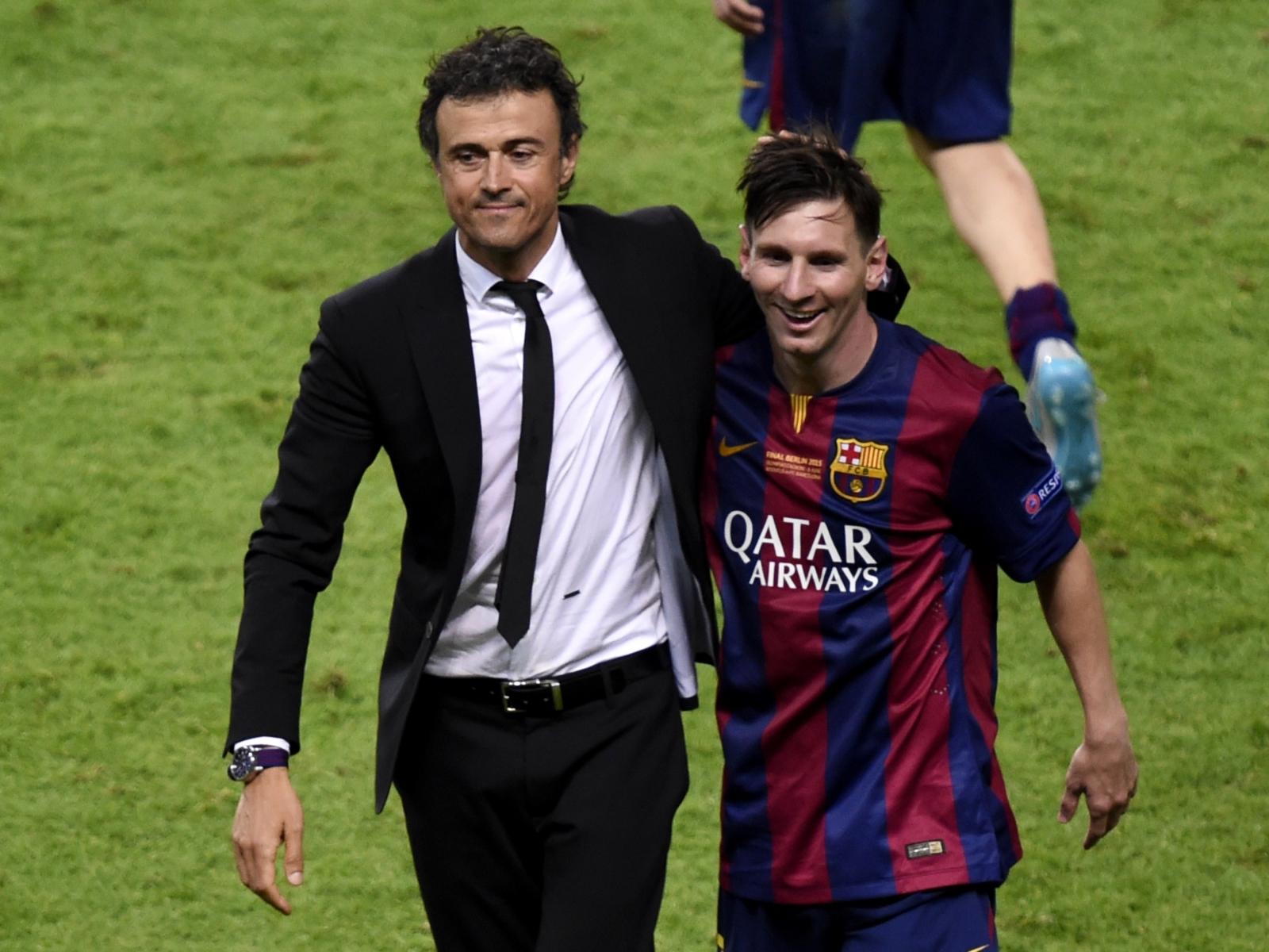 Luis Enrique, Lionel Messi