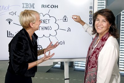 IBM and Ricoh develop a smart whiteboard