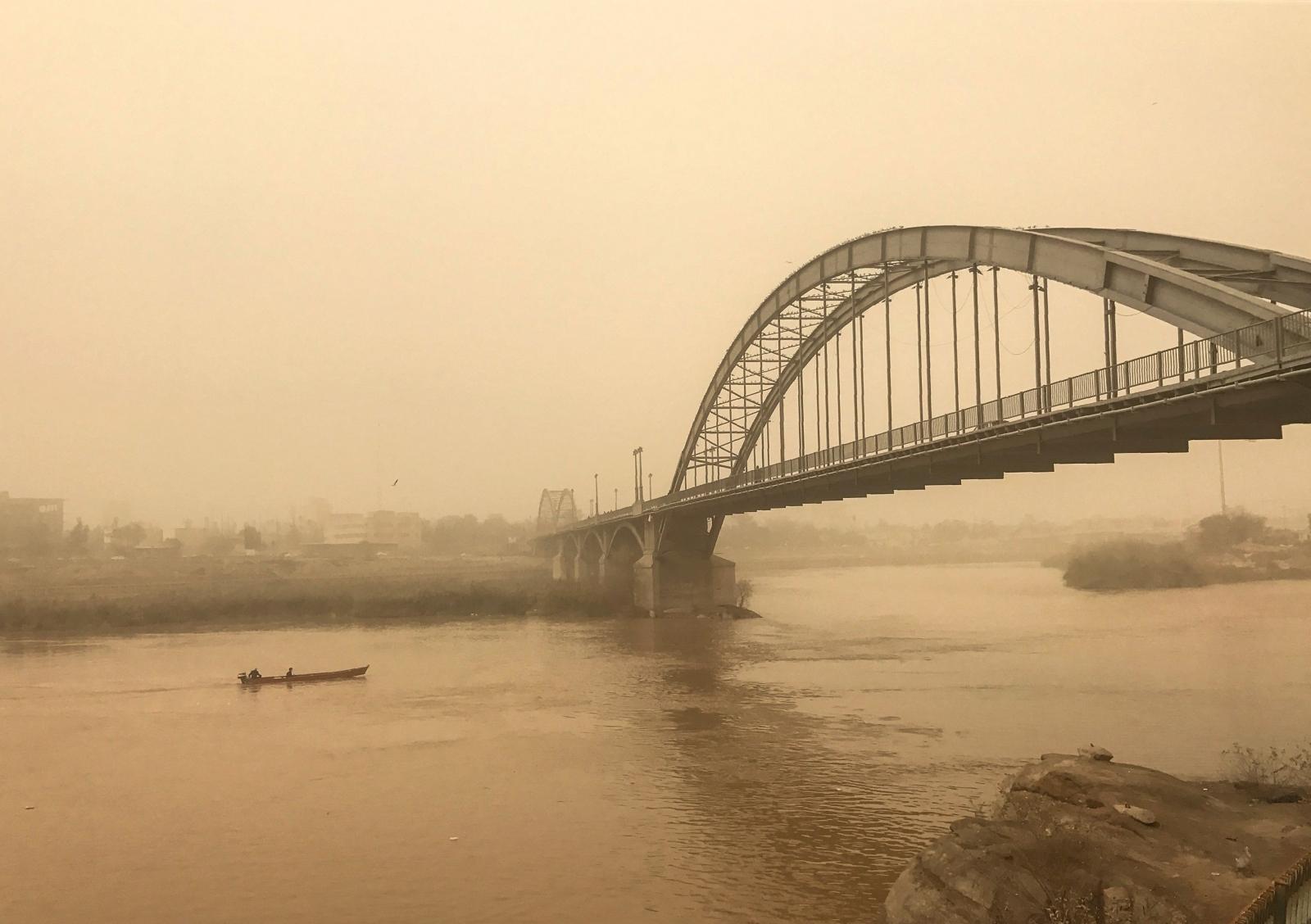 Ahvaz sandstorm Iran