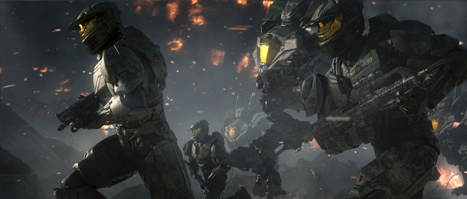 Halo Wars 2 spartans