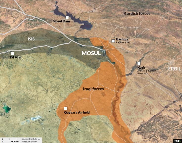 Nineveh Region: map update 20/02/2017