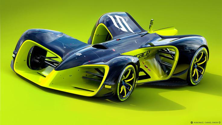 Daniel Simon's concept for the RoboCar racer