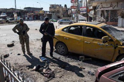 Mosul suicide bomber