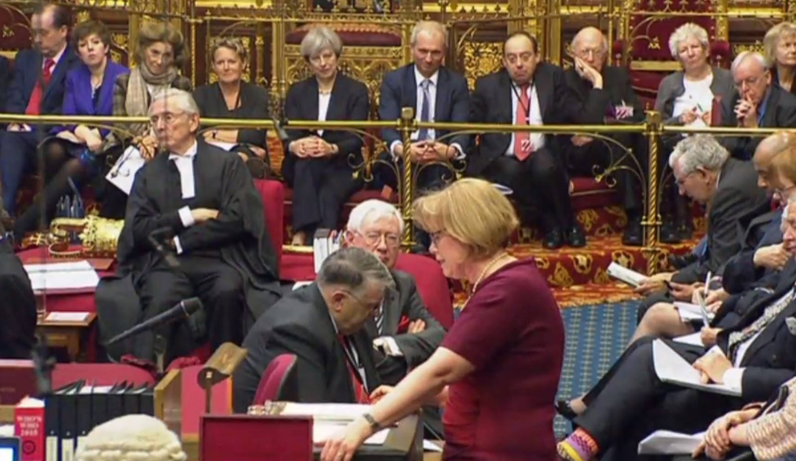 May in the House of Lords
