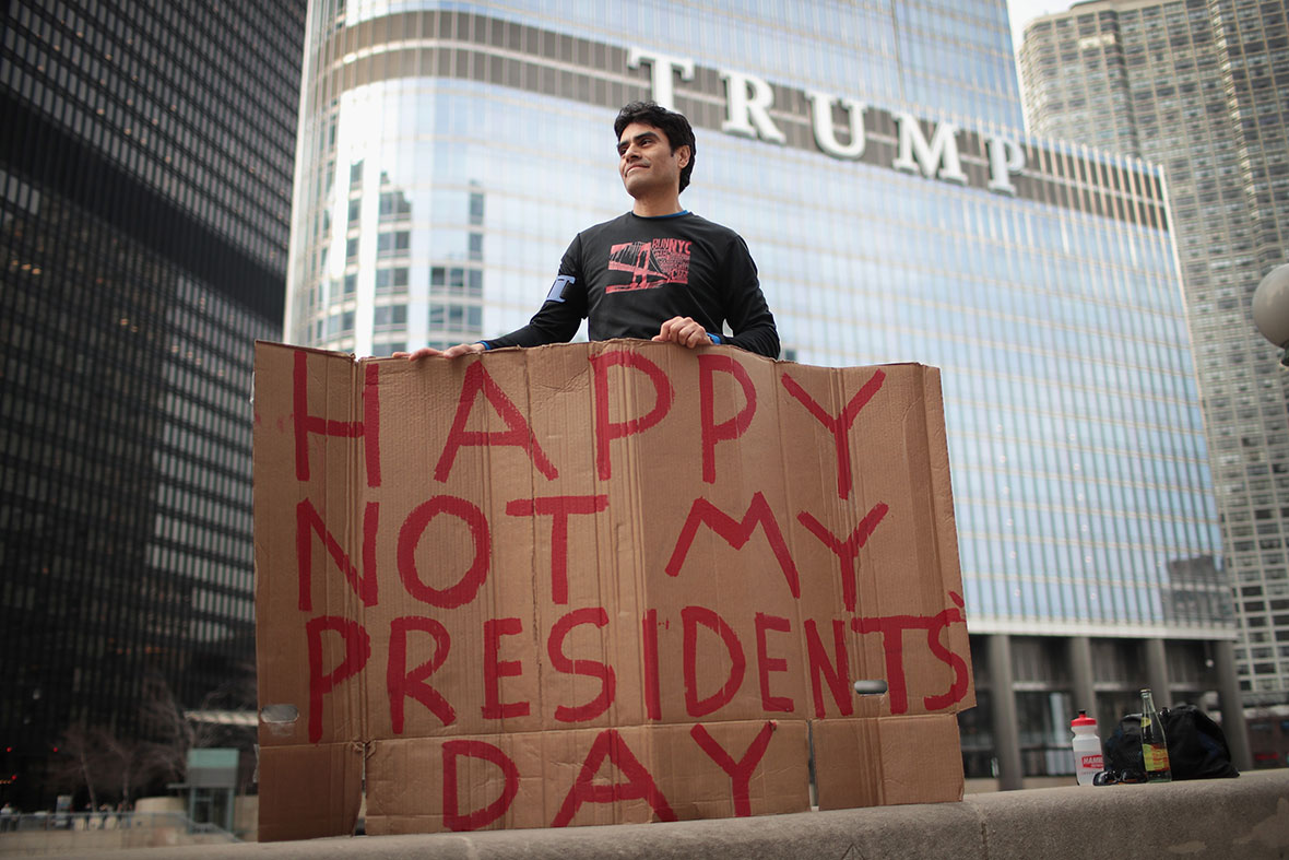 Not My President Day