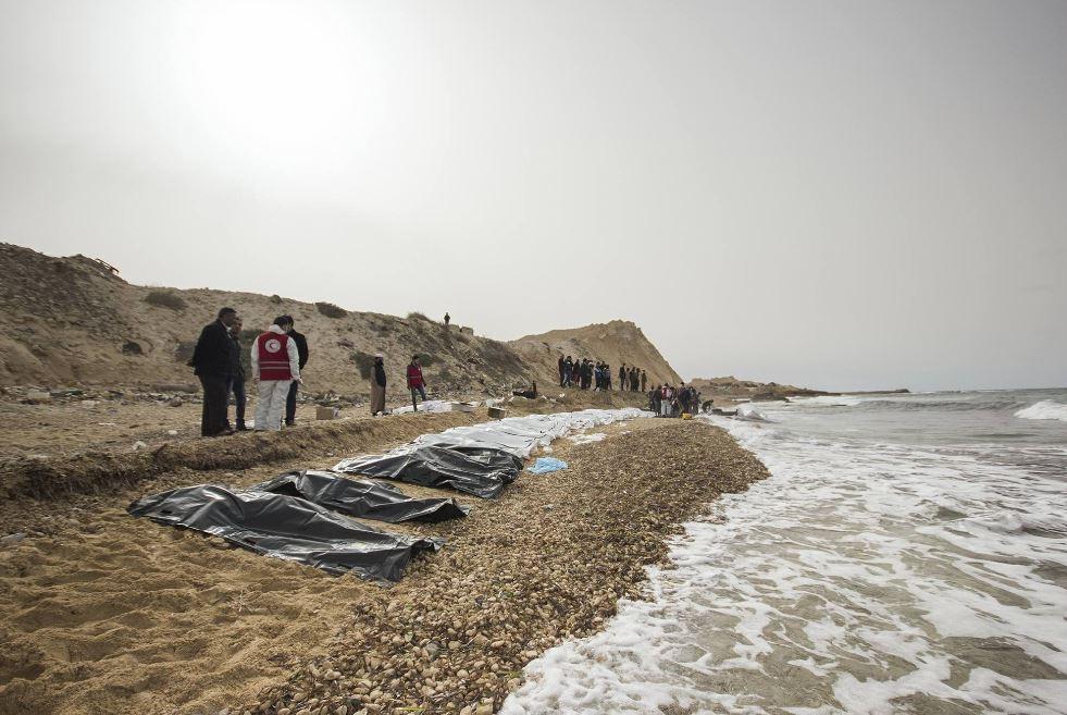 74 dead migrants washed ashore in Libya