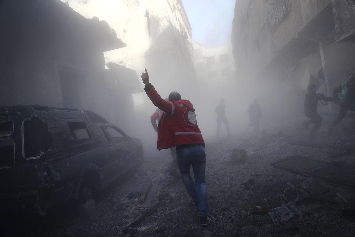 Douma airstrike