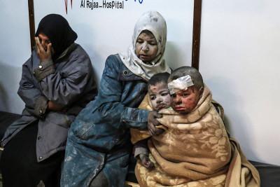 Barzah airstrike