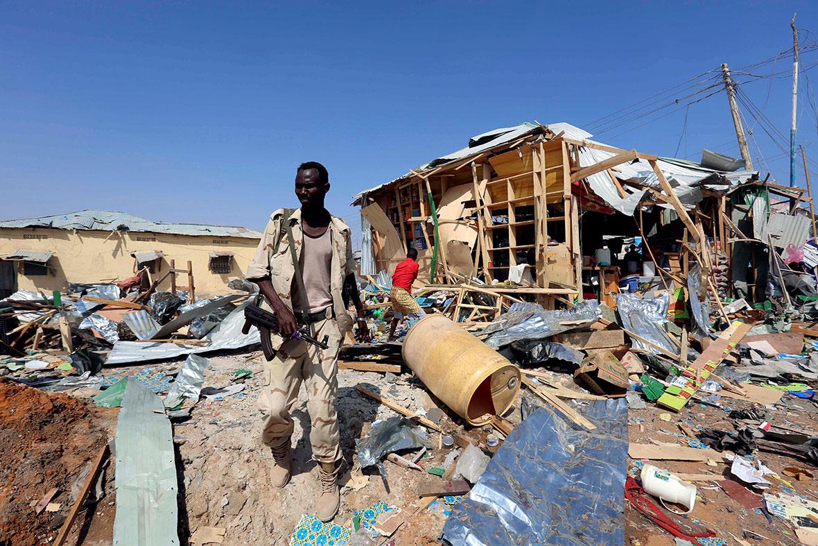Mogadishu suicide bomb