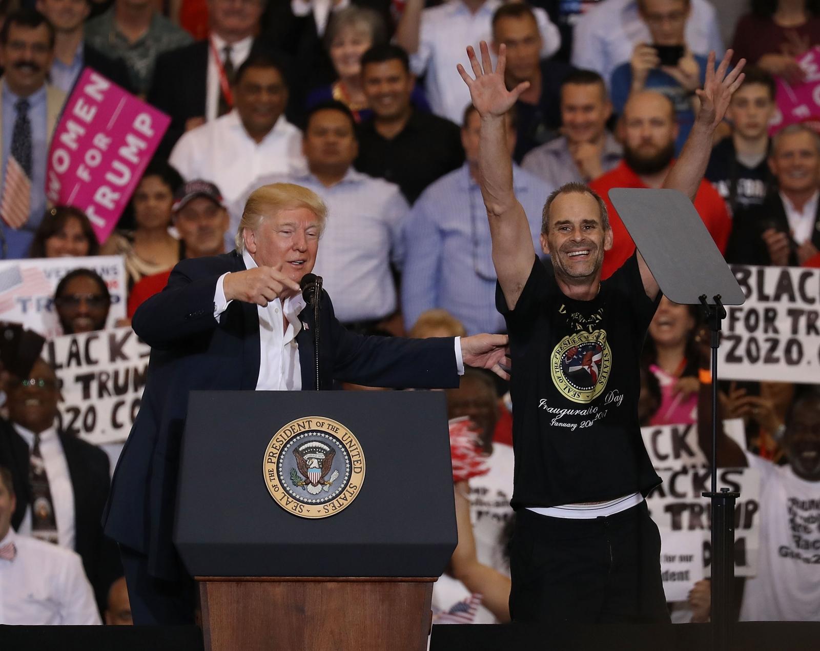 Donald Trump Florida rally