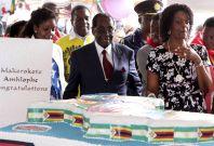 President Robert Mugabe's birthday