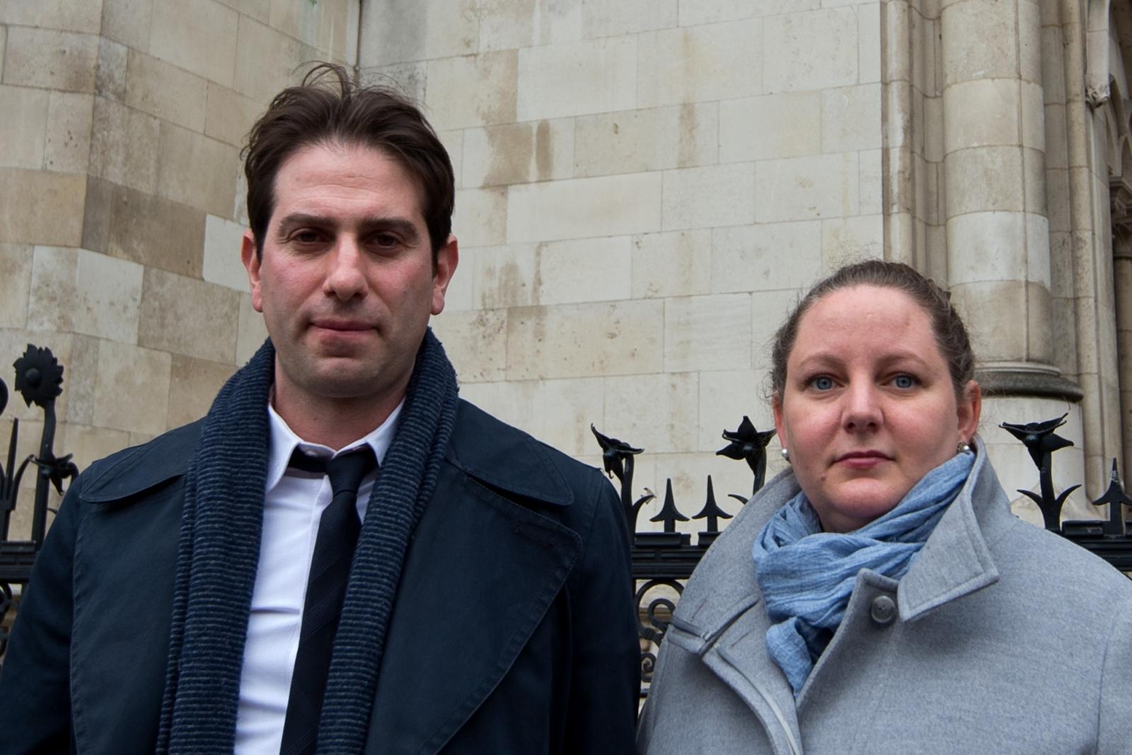 Charles Keidan and Rebecca Steinfeld