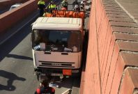 Barcelona gas truck