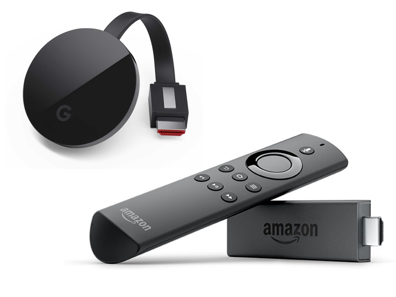 Amazon Fire TV Stick vs Chromecast Ultra