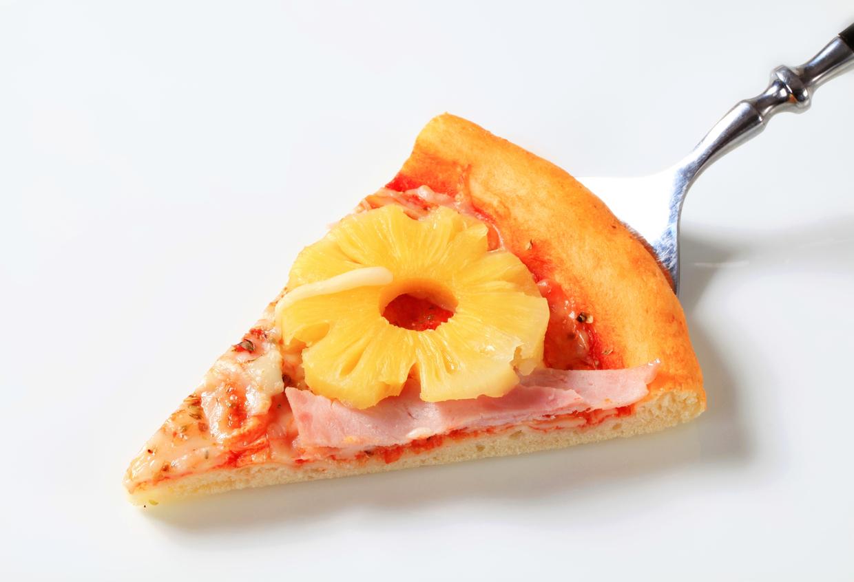 Hawaiian pizza pineapple