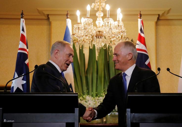 Netanyahu Australia visit