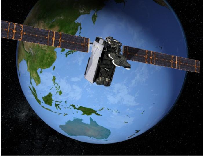 A Boeing satellite