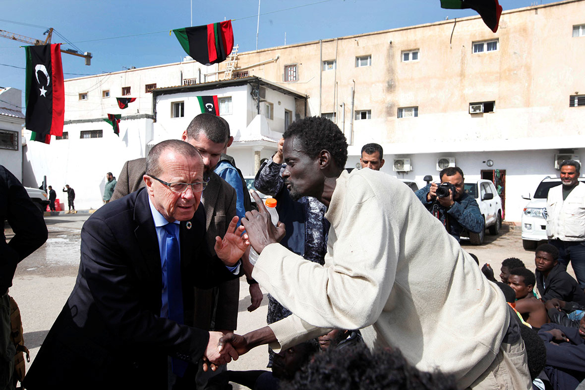 Tripoli detention camp