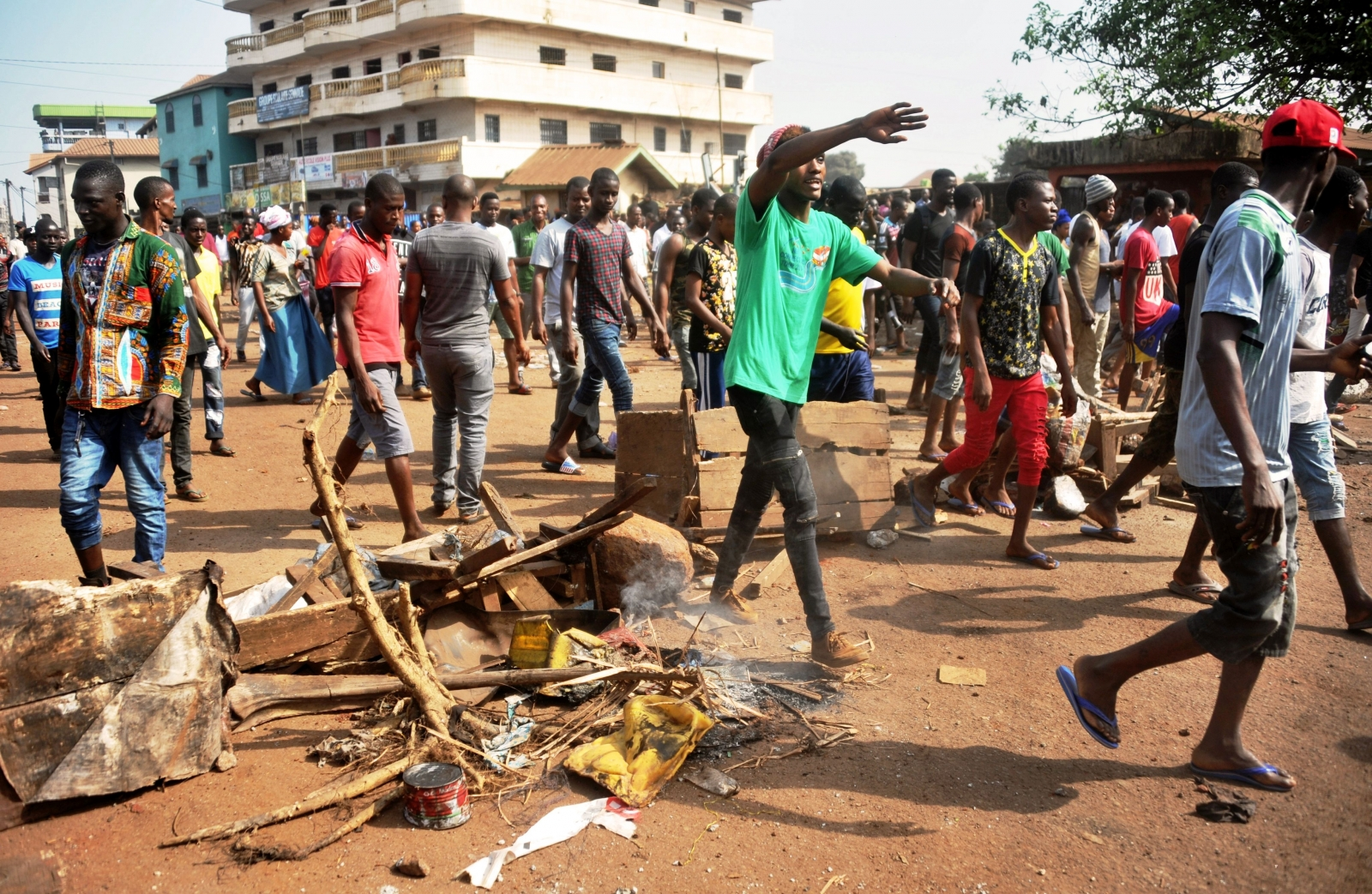 Guinea education protest