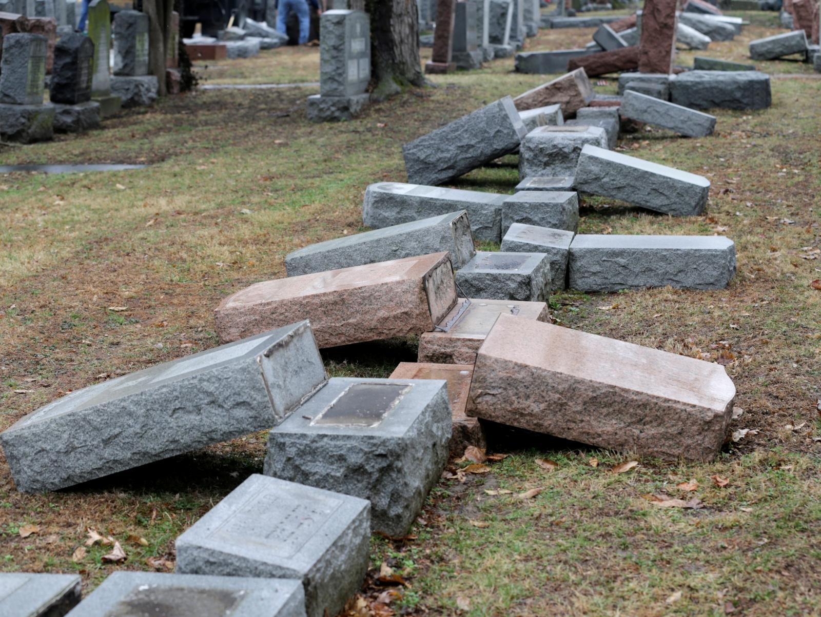 Jewish headstones