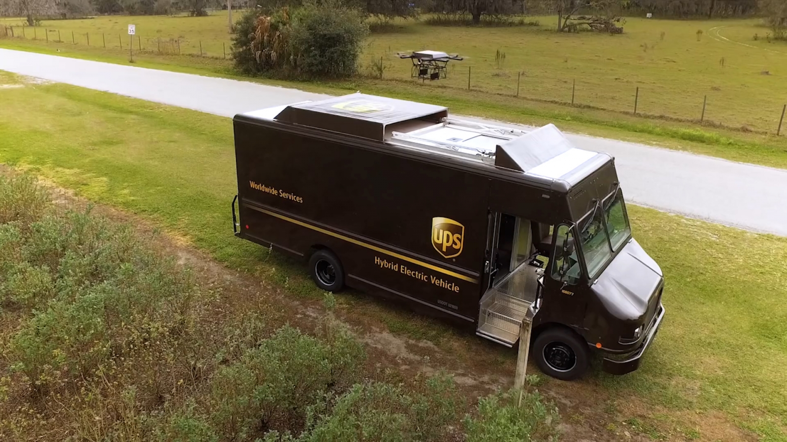 Watch how autonomous delivery drones will save UPS millions of dollars a year
