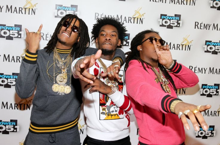 Migos rap group