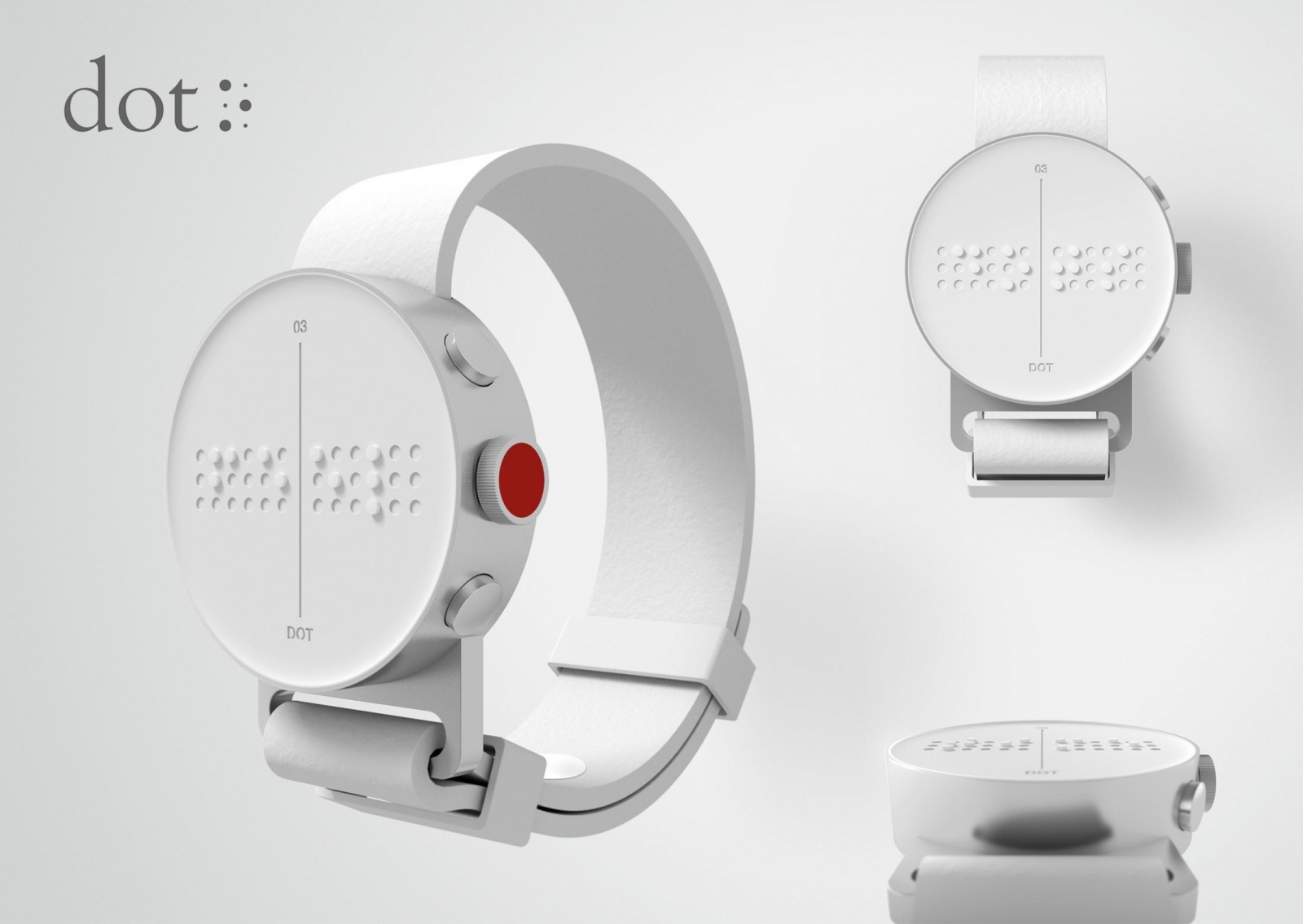 Smart Watch with Braille Display Will Be Released