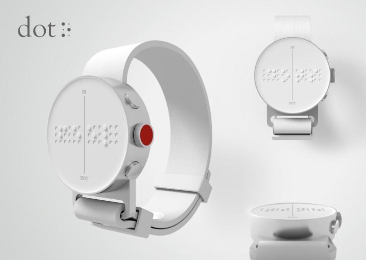Dot Braille smartwatch design