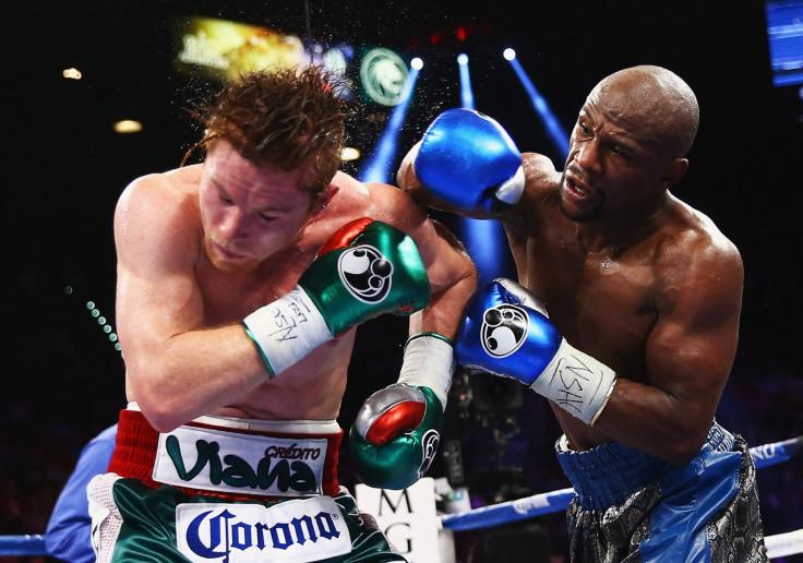 Canelo Alvarez vs Floyd Mayweather