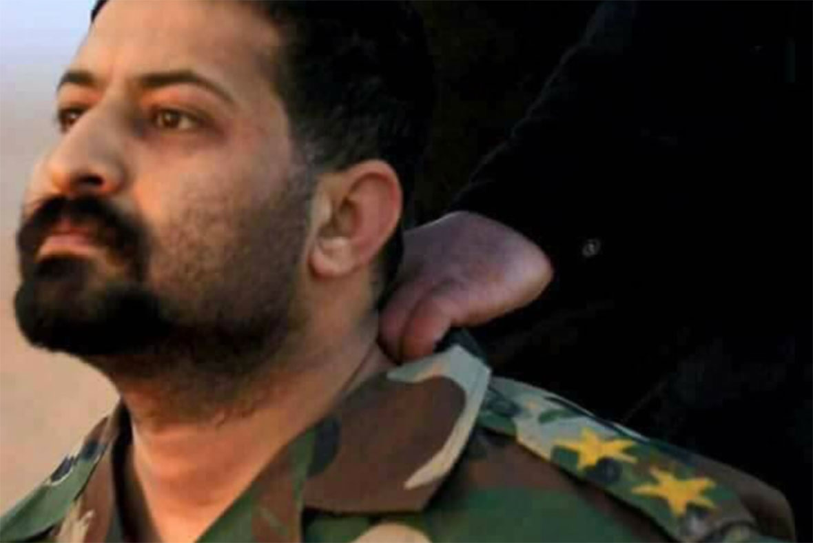 Images of defiant Iraqi officer facing Isis beheading go viral