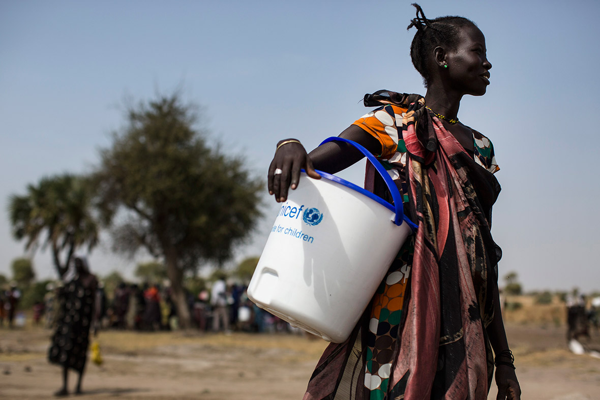 South Sudan famine Unicef