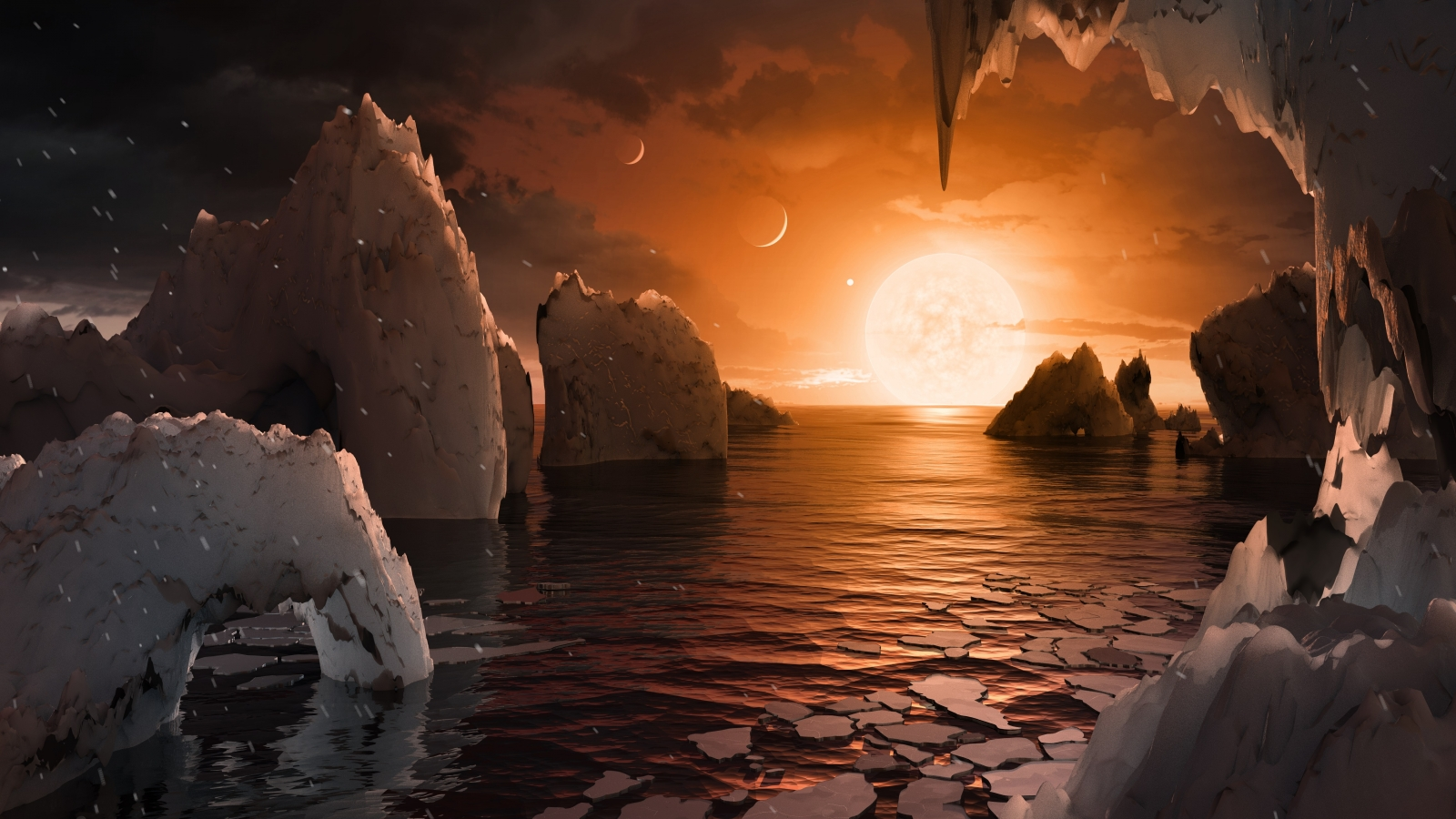 NASA Newly Discovered Planets Could Hold Life Forms