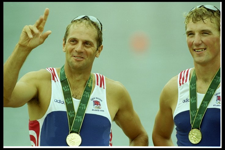 Steve Redgrave and Matthew Pinsent