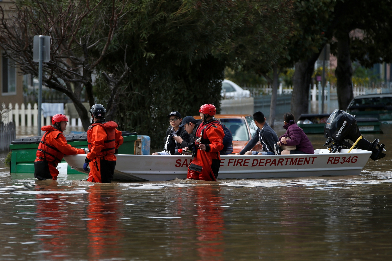 San Jose flood