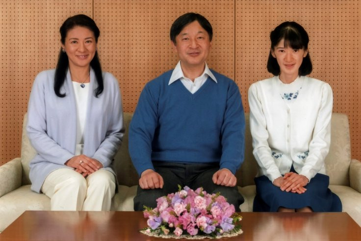 Japan's crown prince and family