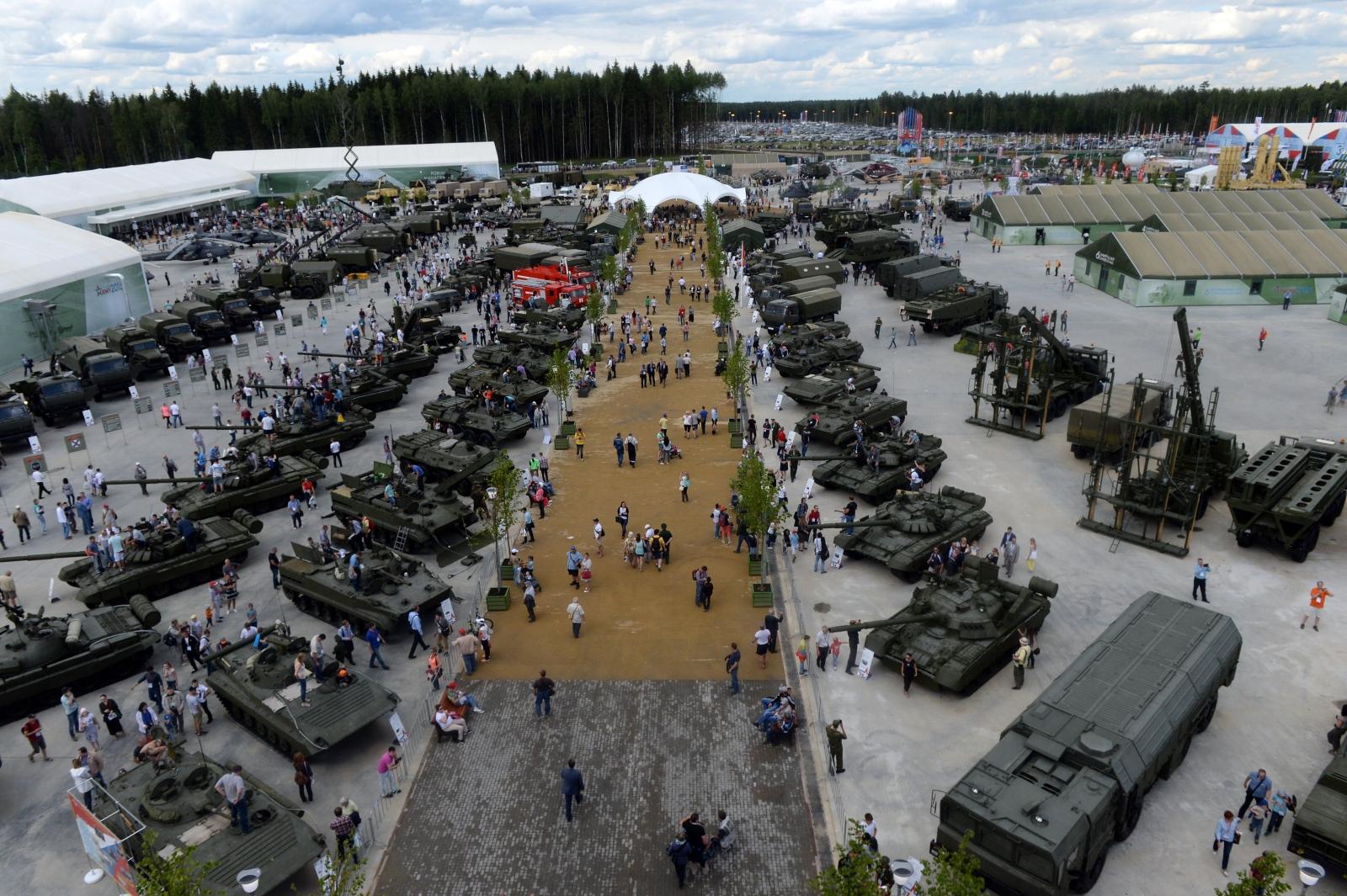 Patriot Park tank museum Kubinka Russia