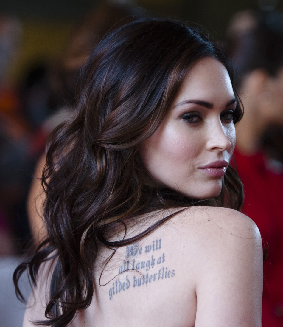 Actress Megan Fox arrives on the red carpet for the film quotFriends With Kidsquot during the 36th Toronto International Film Festival TIFF in Toronto