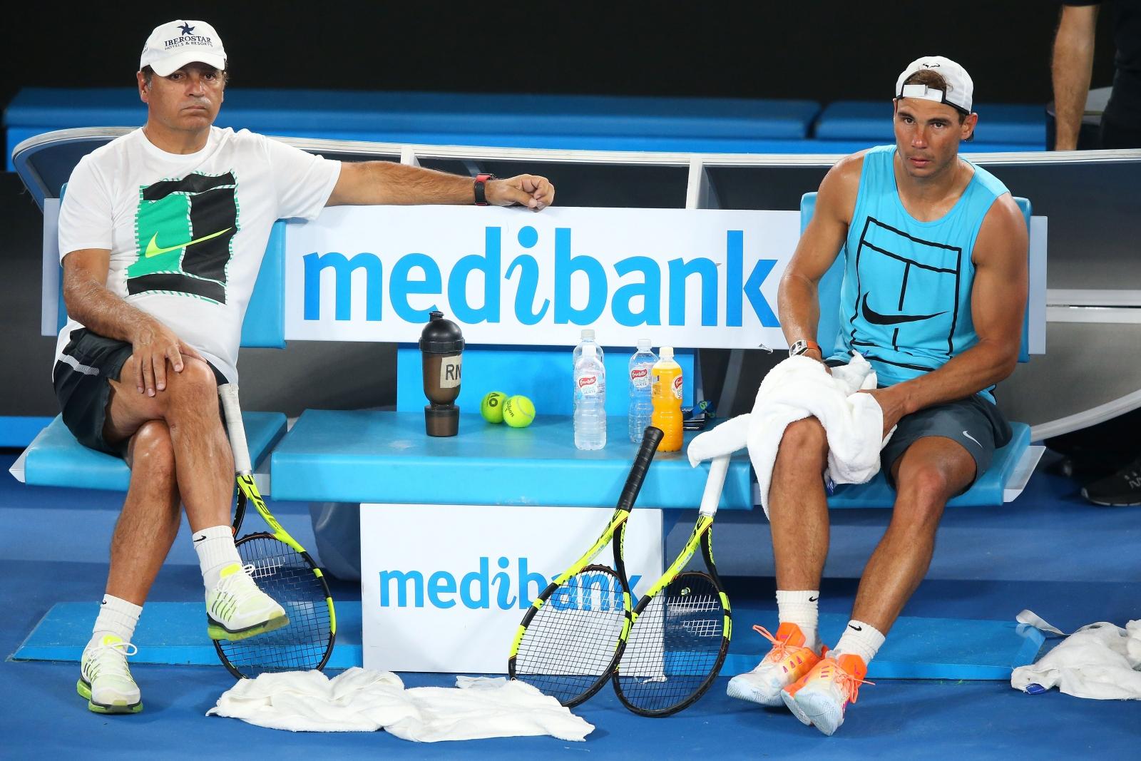 Rafael and Toni Nadal
