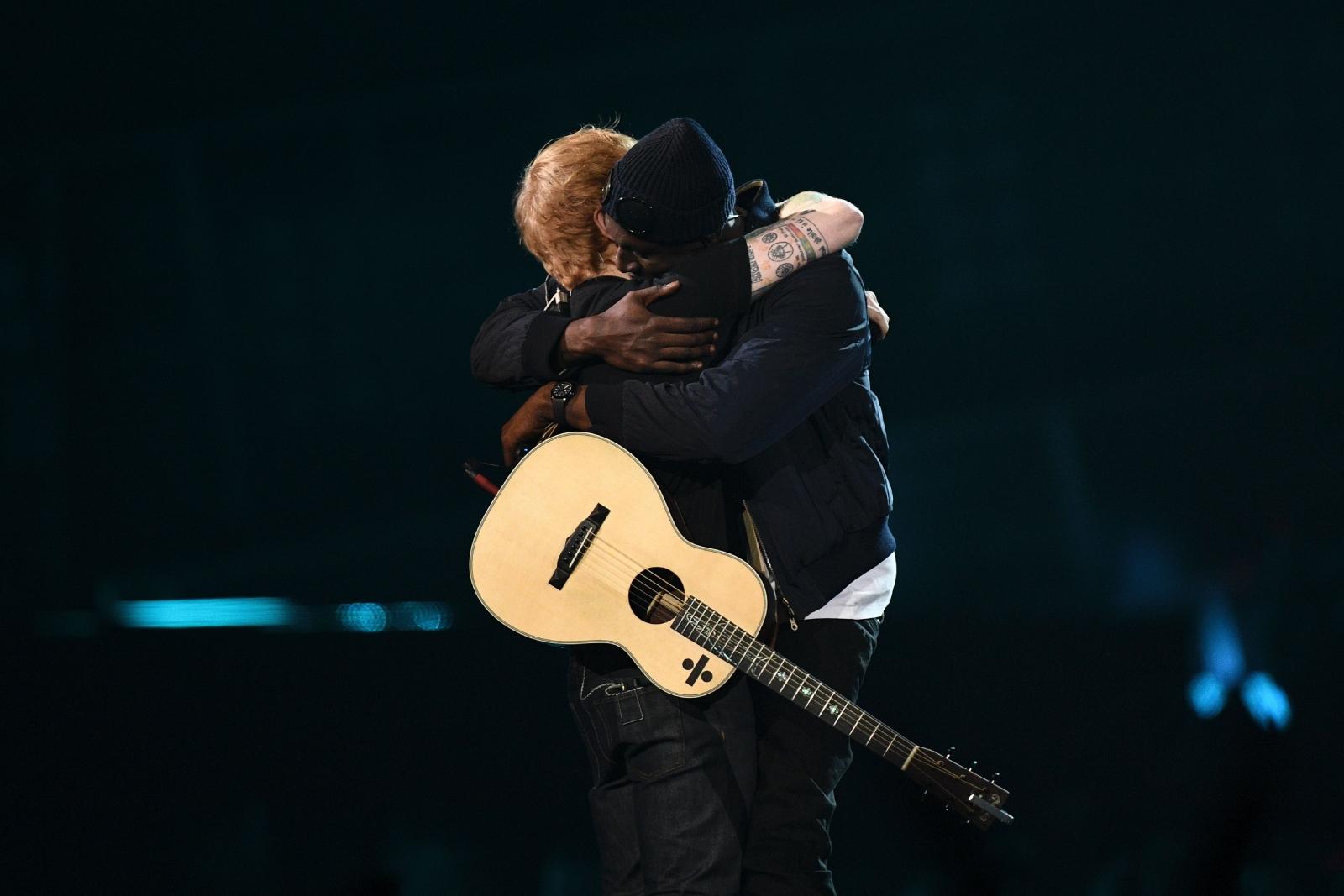 Stormzy and Ed Sheeran