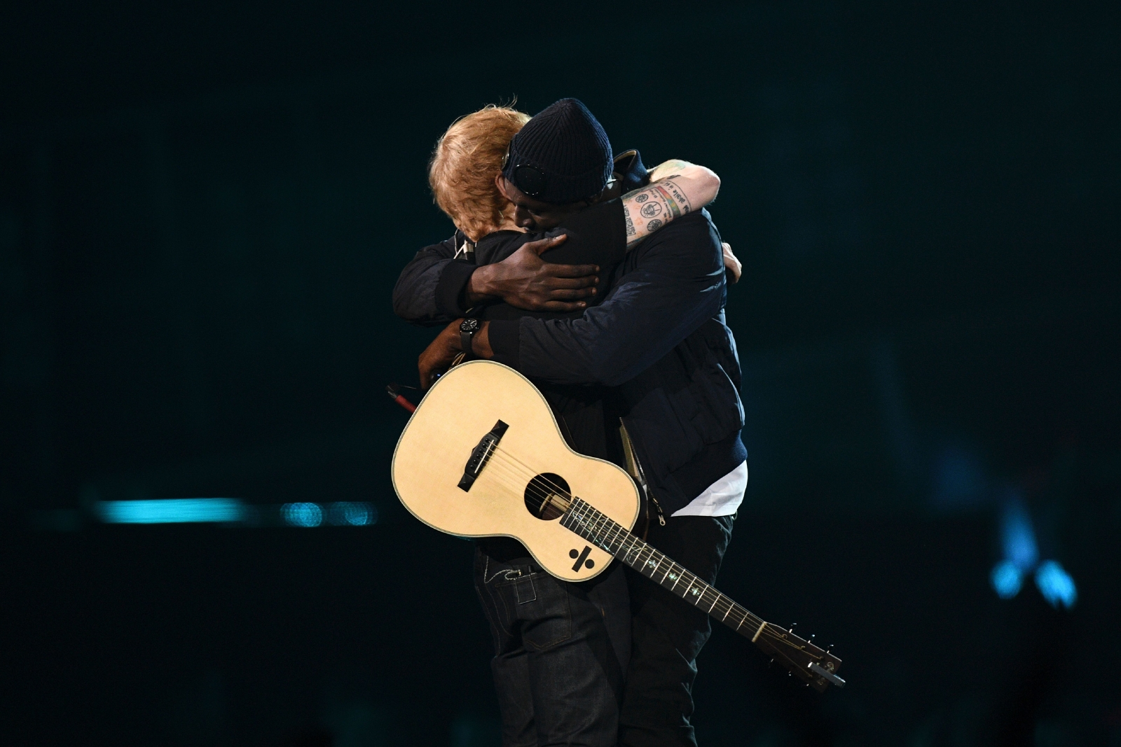 Stormzy and Ed Sheeran