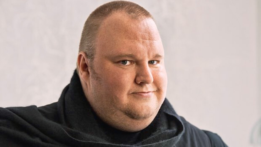 Kim Dotcom - a self portrait