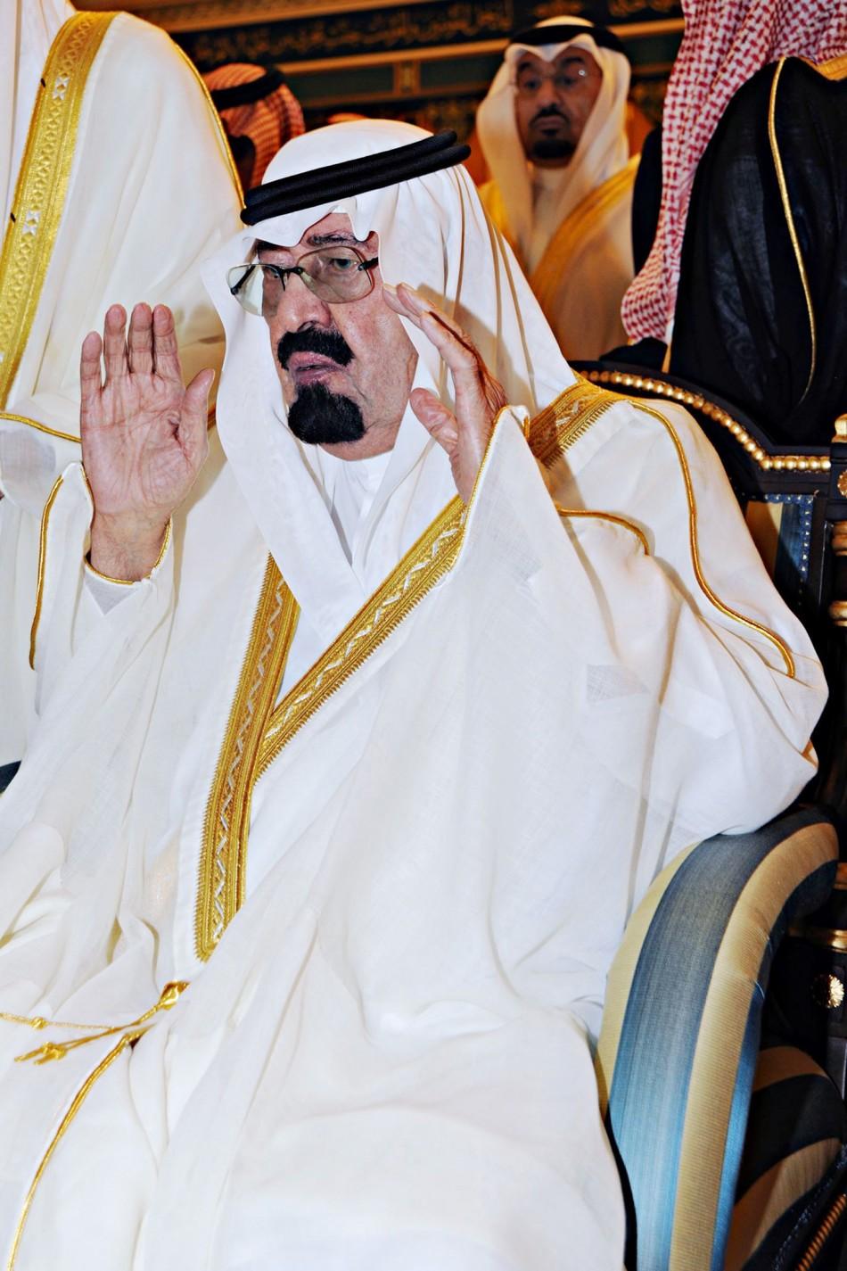 Saudi King Abdullah bin Abdulaziz Al Saud