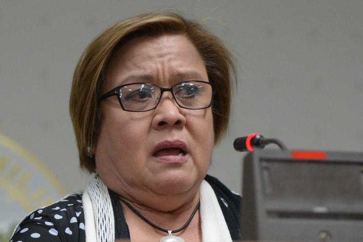 Philippine Senator Leila De Lima